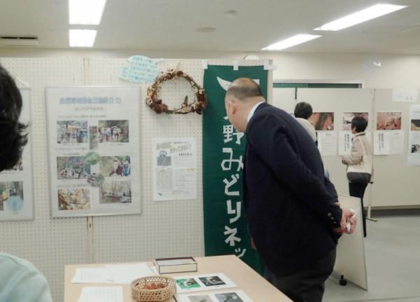 黒田市長が来訪された時の様子