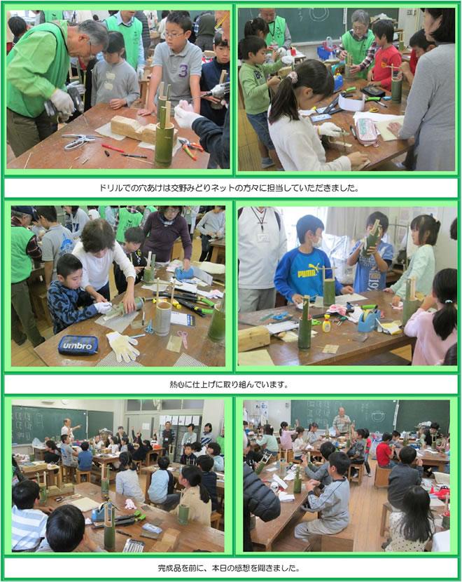 星田小学校4年生環境学習風景④