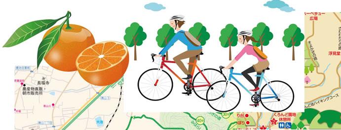 みかん狩り&サイクリング