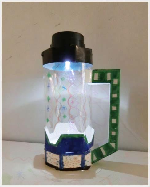 今回作るペットボトルエコライト!