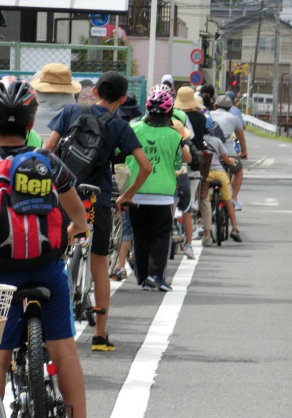 ぶどう狩り&源氏の滝 自転車散歩