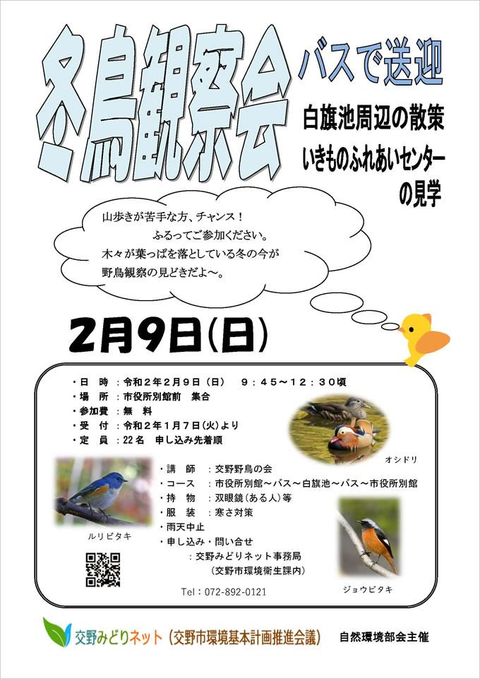 冬鳥観察会